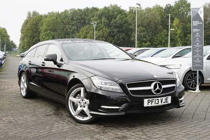 Mercedes-Benz CLS-Class 3.0TD CLS350 Sport AMG Blue Efficy 5-Dr